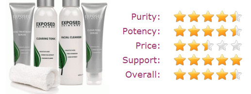 Exposed Skin Care star rating
