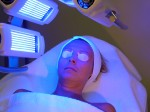 Blue LED light therapy