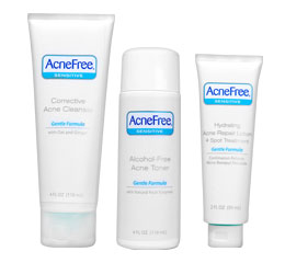 AcneFree Sensitive Skin 24 Hour Clearing System